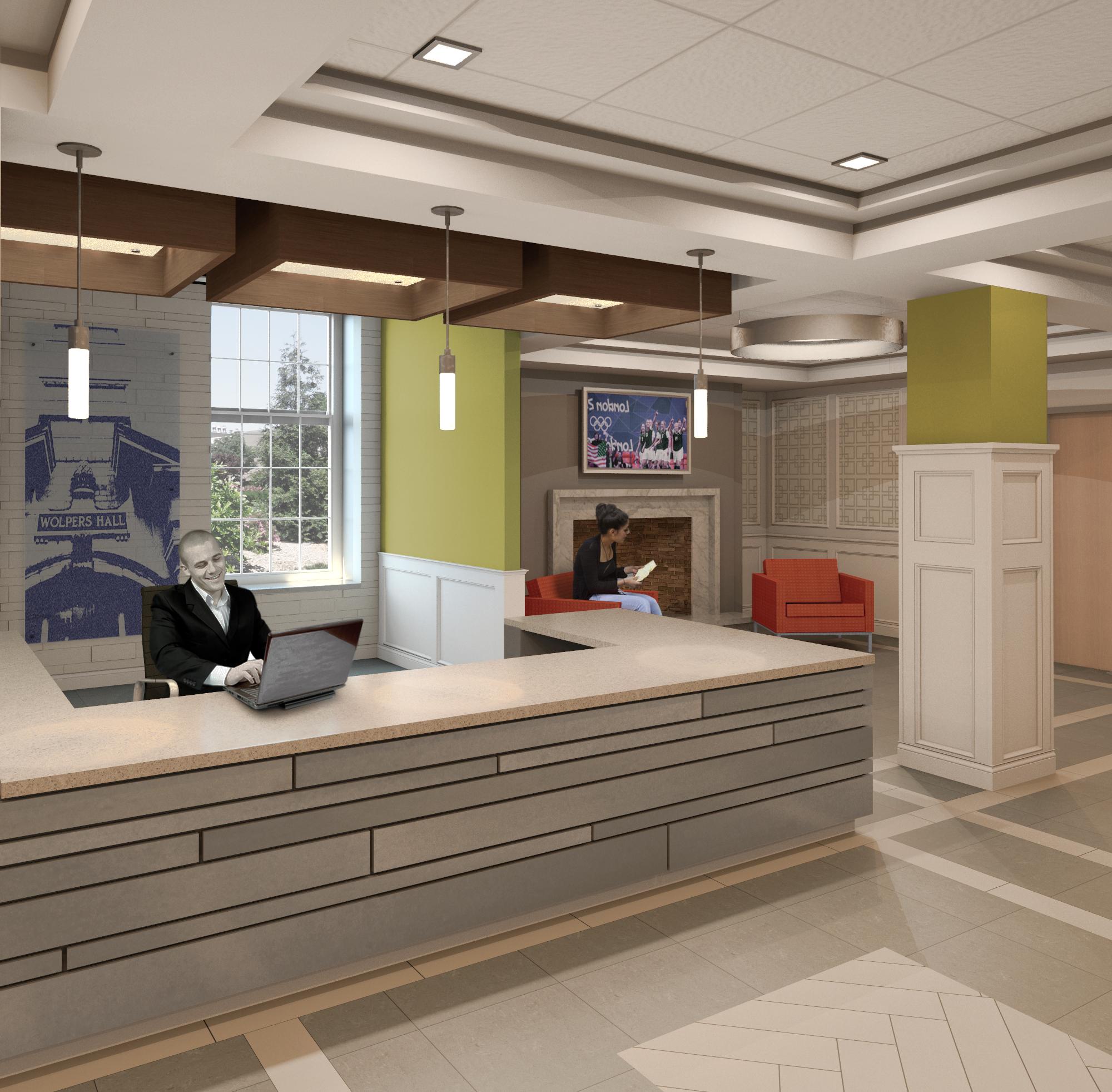 Wolpers – Lobby Desk